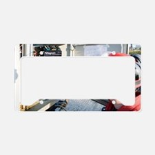 Automatic waste water samplin License Plate Holder