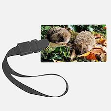 Baby hedgehogs Luggage Tag