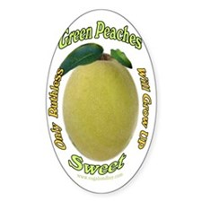 Ruthless Green Peaches-Dark Decal