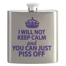 I will not keep calm Flask
