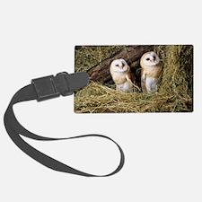 Barn owls Luggage Tag