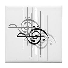 Side Treble/Bass Tile Coaster