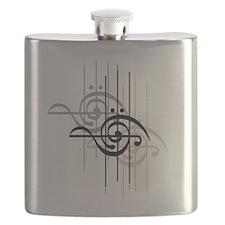 Side Treble/Bass Flask