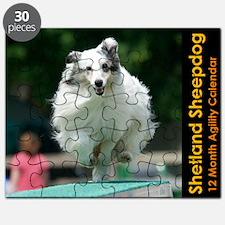Shetland Sheepdog Agility Calendar 2 Puzzle