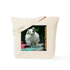 Shetland Sheepdog Agility Calendar 2 Tote Bag