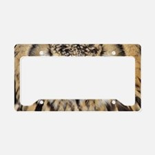 Bengalese eagle owl License Plate Holder