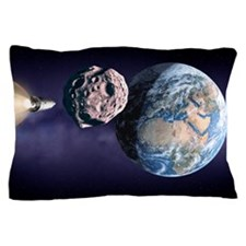 Asteroid deflection Pillow Case