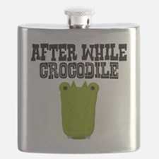 After While Crocodile Flask