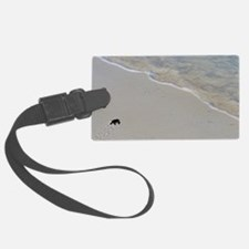 Baby green turtle Luggage Tag