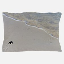 Baby green turtle Pillow Case