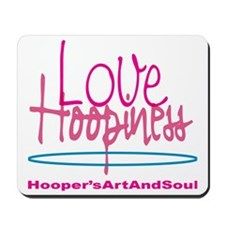 Love and Hoopiness Mousepad