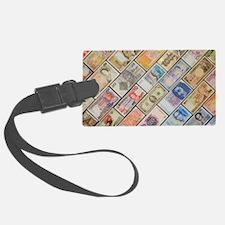 Bank notes of various nationalit Luggage Tag