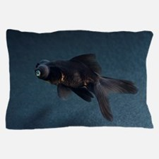 Black Moor ornamental fish Pillow Case