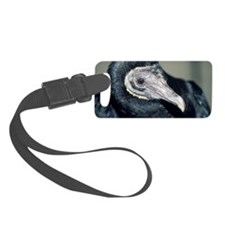Black vulture Luggage Tag