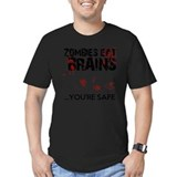 Zombie Fitted T-shirts (Dark)