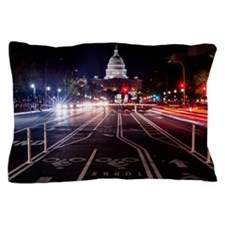 Washington DC Capital Building Pillow Case