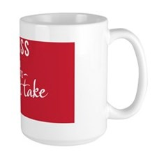 small framed print You miss 100% of the Mug