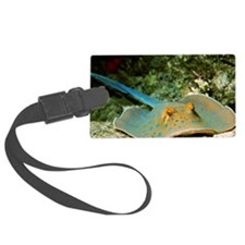 Blue-spotted fantail ray Luggage Tag