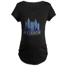 Atlanta Skyline Newwave Coo T-Shirt