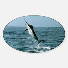 Black marlin Decal