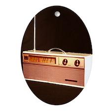 Radio Oval Ornament