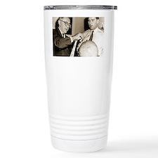 Wernher von Braun and W Travel Mug