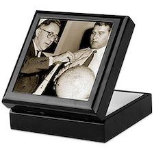 Wernher von Braun and Willy Ley Keepsake Box