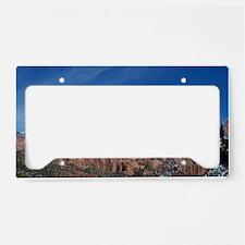 UtahRedRockVista1 License Plate Holder
