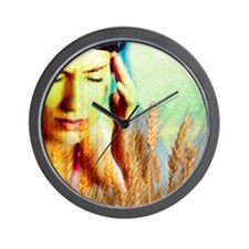 Wheat allergy Wall Clock
