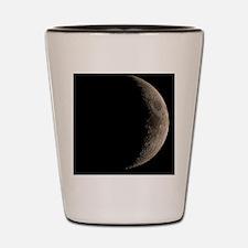 Waxing crescent Moon Shot Glass
