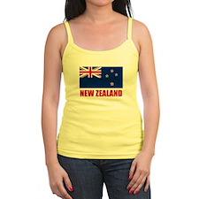 New Zealand Flag Jr.Spaghetti Strap