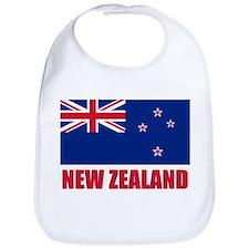 New Zealand Flag Bib