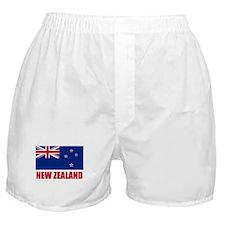 New Zealand Flag Boxer Shorts