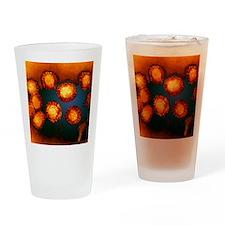 West Nile viruses Drinking Glass