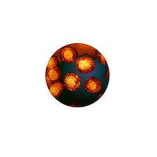West Nile viruses Mini Button