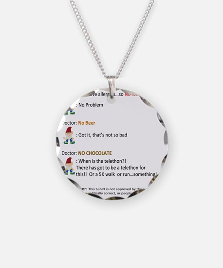Call to Action - Cure Chocol Necklace