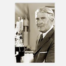 Wernher von Braun, German Postcards (Package of 8)