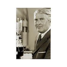 Wernher von Braun, German rocket  Rectangle Magnet