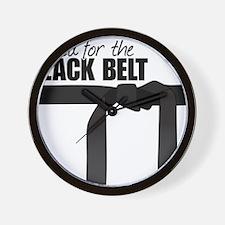 Black Belt Wall Clock