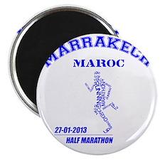 Marrakech Half Marathon - Blue Magnet