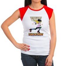 Rollergirl Women's Cap Sleeve T-Shirt