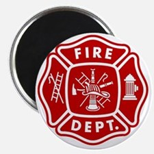 Fire Department Crest Magnet