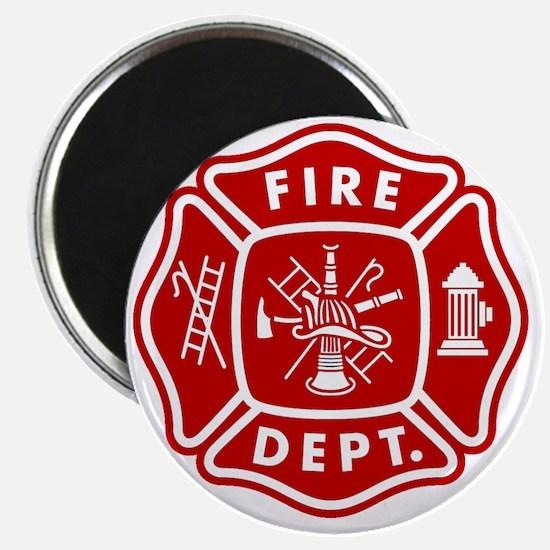 Fire Department Crest Magnet