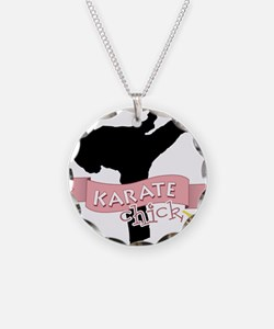Karate Chick Necklace