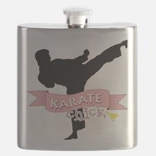 Karate Chick Flask