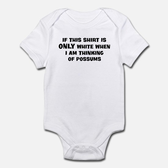 Thinking of Possums Infant Bodysuit