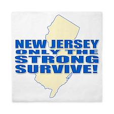 New Jersey Strong Queen Duvet