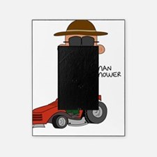 Man Mower Picture Frame