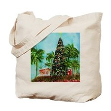 100 ft Christmas Tree Tote Bag