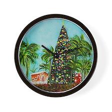 100 ft Christmas Tree Wall Clock